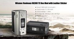 Wismec Reuleaux RX300 TC Box Mod Leather