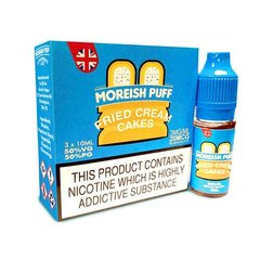 Fried Cream Cakes by Moreish Puff TPD Compliant eLiquid – 3 x 10ml