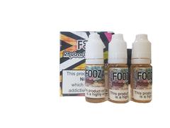 Fooza - Rhubarb & Custard TPD Compliant 10ml x 3 Pack 3mg