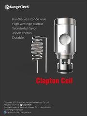 Kanger SSOCC Clapton Atomizer head 0.5ohm (5 pack)