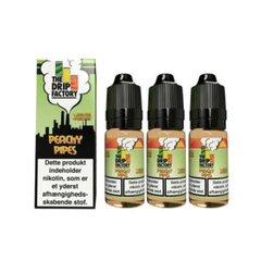 Peachy Pipes E-Liquid The Drip Factory 3mg