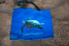Save The Sea Turtles The Honu Reusable bag #SaveTheOcean