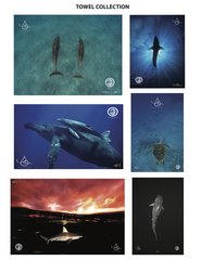 Ocean Conservation Towel Collection/Anti-Microbial & designed to make a perfect Yoga Mat cover too