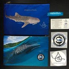 """Whale Shark Accessory Bag.  """"The Julia Sea Jewel Clutch"""""""