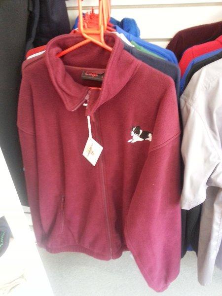 Fleece Jacket - embroidered