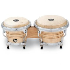 LP Music Collection® Natural Wood Bongos Mini Tunable