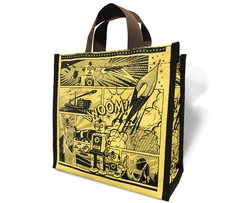Retro Comic - Recycled Lunch Bag