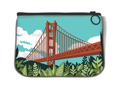 Golden Gate Bridge Fabric Pouch