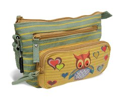 Owl Crossbody Bags - Canvas