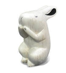White Pure Wood - Rabbit