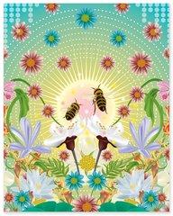 Happy Bees - Art Print