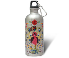 Peacock Stainless Steel Water Bottle