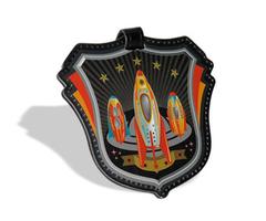 Rocket Luggage Tag