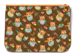 Smarty Pattern Quilted Handy Pouch