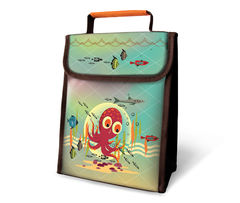Octopus Insulated Lunch Sack