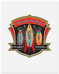 Plant Patrol - Art Print