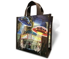 UFO - Recycled Lunch Bag