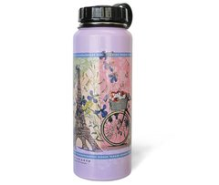 1000ml Stainless Steel Water Bottle - Happy Bees