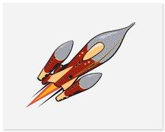 Sky Rocket - Art Print