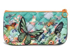 Butterfly Pencil Pouch - Quilted