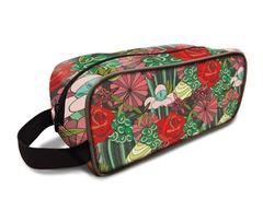 Rose Pattern Dopp Kit