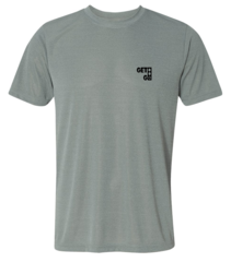 GETGO Dri-FIT PERFORMANCE SHORT-SLEEVE (Athletic Heather)