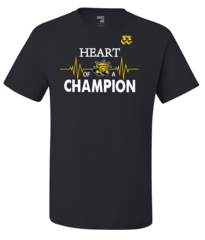 HEART OF A CHAMPION (NCAA WICHITA STATE SHOCKERS)