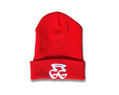 GETGO GG BEANIE RED (White)