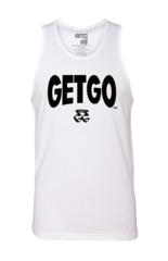 WIDE LOGO GETGO TANK (White)
