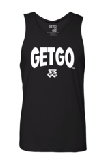 WIDE LOGO GETGO TANK (Black)