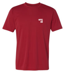 GETGO Dri-FIT PERFORMANCE SHORT-SLEEVE (Red)