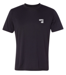 GETGO Dri-FIT PERFORMANCE SHORT-SLEEVE (Black)