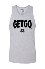 WIDE LOGO GETGO TANK (Athletic Gray)