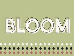 Bloom - French Garden Flash Card