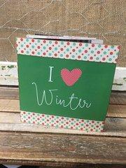 SS Kit - I Love Winter Accordion Book