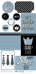 Accordion Tag Pieces - Father's Day
