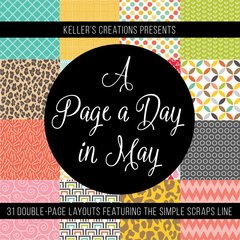 A Page a Day in May- 2018