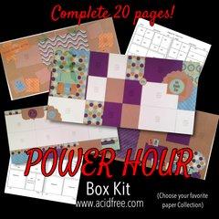 Power Hour...Album in a Box!