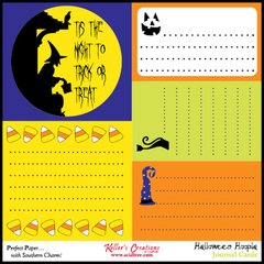 Journal Cards - Halloween Hoopla