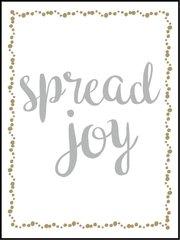 Spread Joy - Southern Sparkle Flash Card