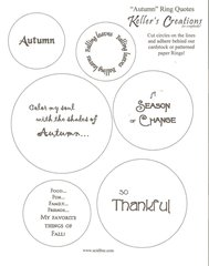 Autumn Ring Quotes