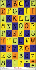 Alphabet Sheet - Halloween Hoopla