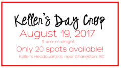 Keller's Day Crop-Charleston, SC - August 19, 2017