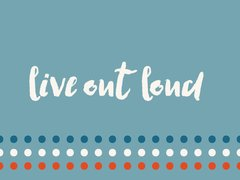 Live Out Loud - Cherries Jubilee Flash Card