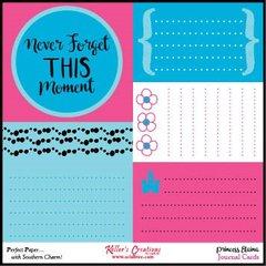 Journal Cards - Princess Elaina