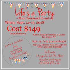 Life's a Party MINI Weekend Event - Las Vegas