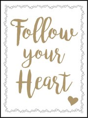 Follow Your Heart - Southern Sparkle Flash Card