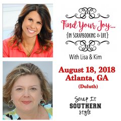 Find Your Joy...ATLANTA Day Event - August 18, 2018