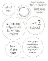 School Ring Quotes