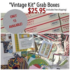 """Vintage Kit"" Grab Box!"